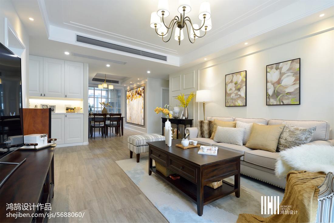 精致美式风格客厅装修客厅美式经典客厅设计图片赏析
