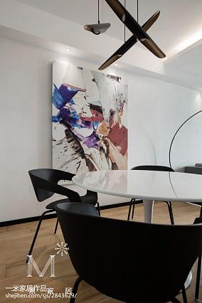 热门面积108平北欧三居餐厅装饰图片
