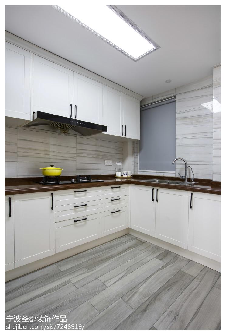 简洁混搭风格厨房设计装修餐厅橱柜潮流混搭厨房设计图片赏析