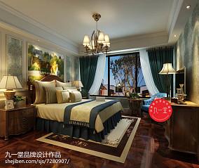 简美长形卧室图片