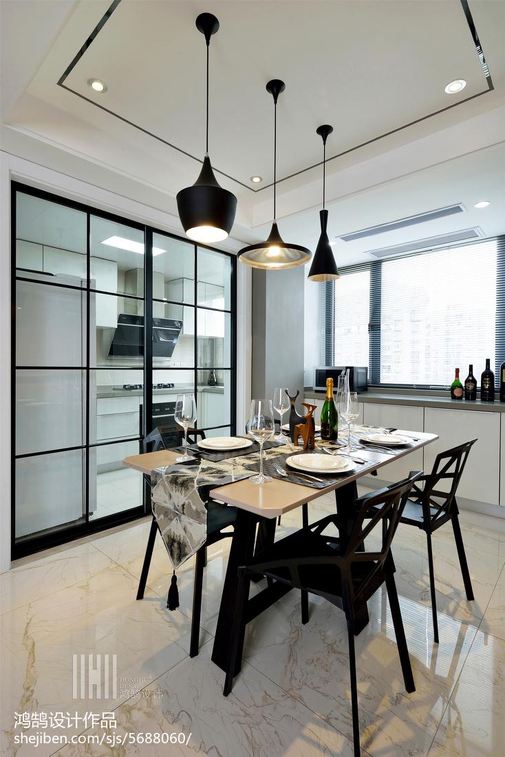 精选简约三居餐厅装饰图片厨房现代简约餐厅设计图片赏析