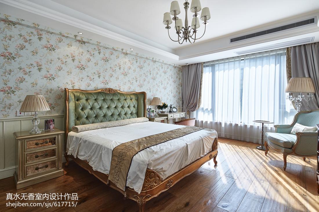清新美式风格复式卧室设计卧室美式经典卧室设计图片赏析