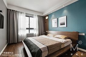 平北欧三居卧室装修图片家装装修案例效果图