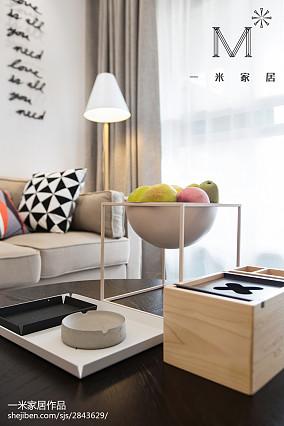 精美面积105平北欧三居客厅欣赏图家装装修案例效果图