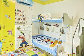 精美面积98平现代三居儿童房装修图片欣赏