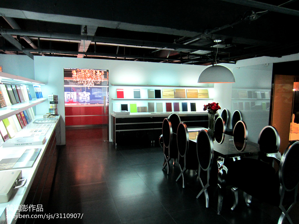 现代公司会议室装饰设计图设计图片赏析