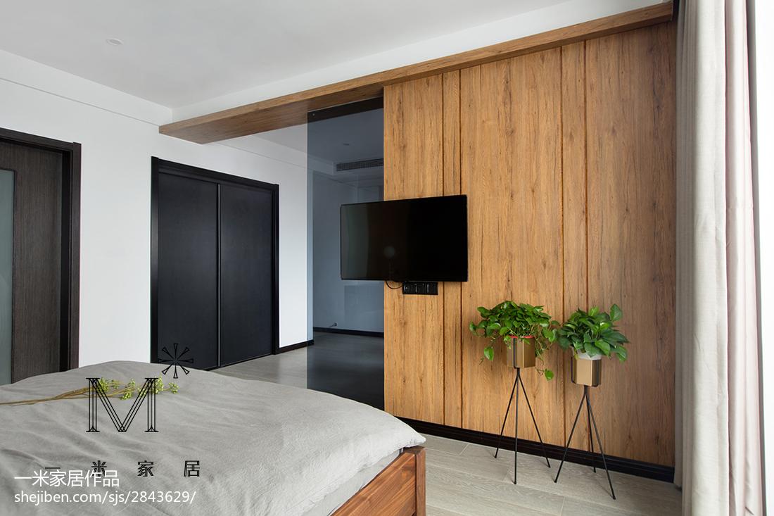 美式卧室背景墙装修客厅现代简约客厅设计图片赏析