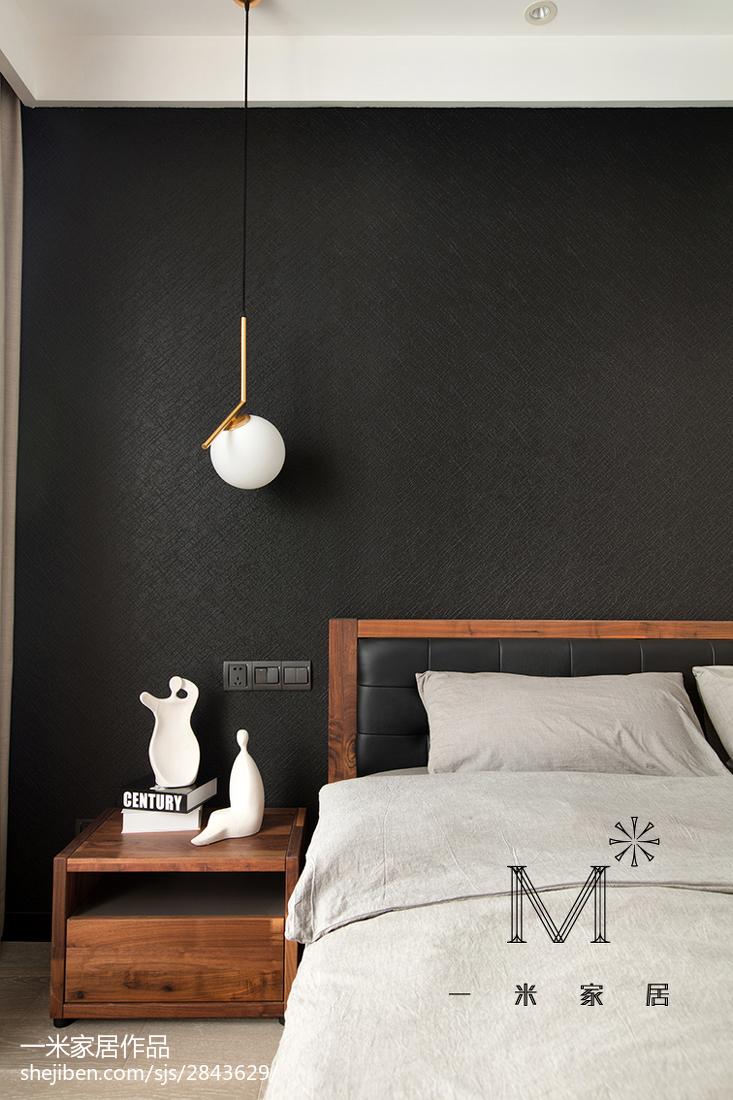 2018大小101平现代三居卧室效果图片欣赏卧室现代简约卧室设计图片赏析