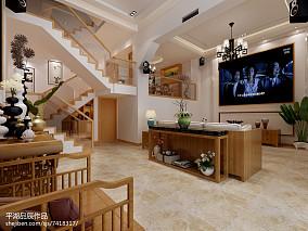 精选面积134平日式四居装修设计效果图