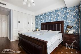 优雅95平美式三居实拍图121-150m²三居美式经典家装装修案例效果图