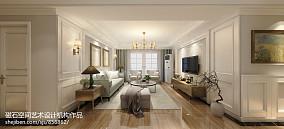 热门100平米三居客厅美式装修欣赏图片大全