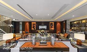 精选面积143平别墅客厅混搭效果图片欣赏
