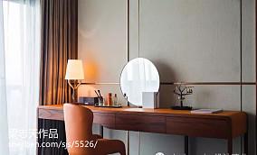 精美面积112平别墅卧室混搭装修实景图