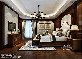 精选114平方欧式别墅卧室装饰图片大全
