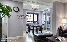 家居美式餐厅设计案例图厨房1图美式经典设计图片赏析