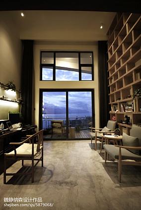LOFT风格小户型书房设计案例