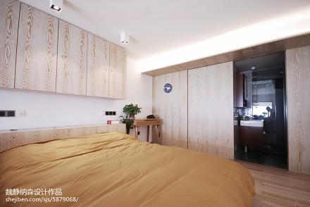 混搭风格复式卧室装修大全