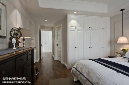 温馨美式客厅装修方案卧室