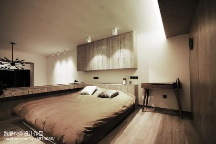 朴素混搭风格卧室装修图