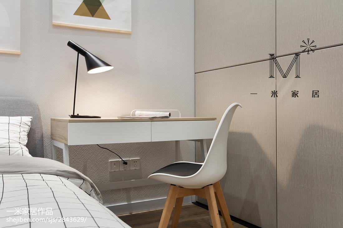 2018大小99平现代三居卧室装饰图片欣赏功能区其他功能区设计图片赏析