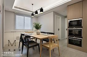 精选面积109平现代三居餐厅欣赏图片