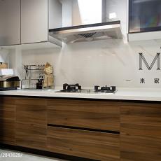 温馨113平现代三居厨房设计美图