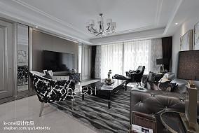 精选新古典四居客厅装修效果图片欣赏客厅1图美式经典设计图片赏析
