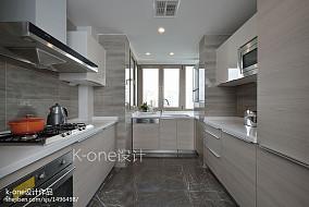 2018新古典四居厨房装修设计效果图餐厅美式经典设计图片赏析
