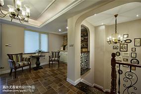 欧式豪华设计别墅客厅效果图