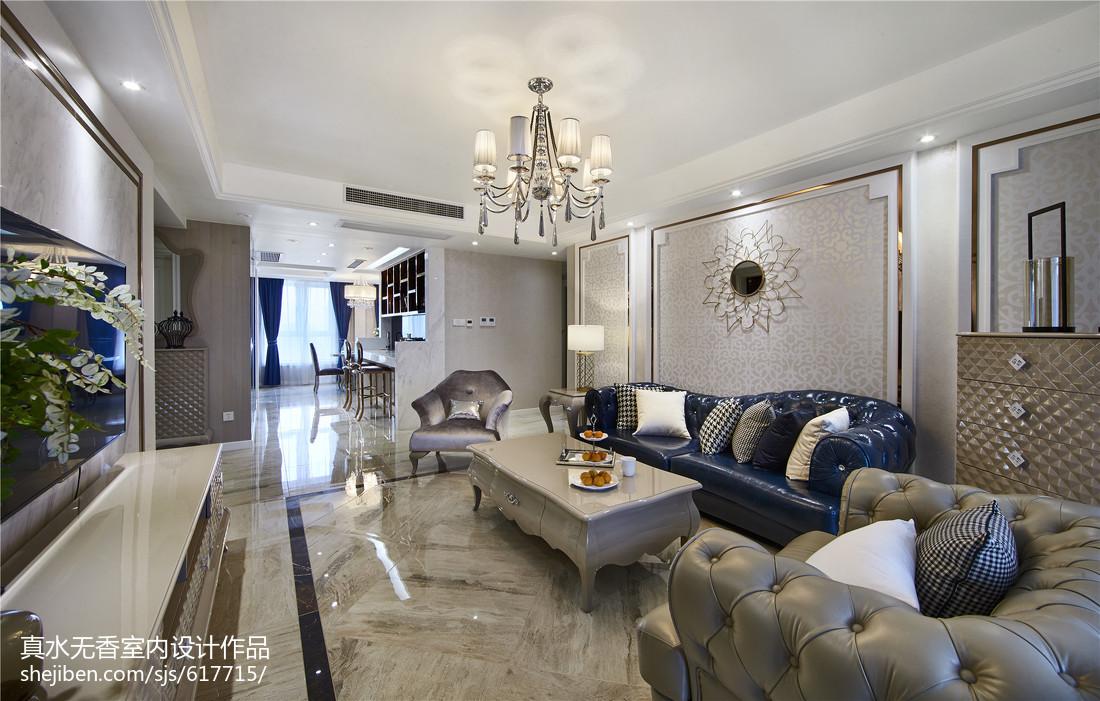 新古典风格三居装修功能区1图美式经典功能区设计图片赏析