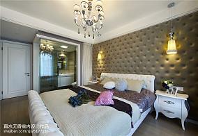 华丽新古典风格卧室效果图