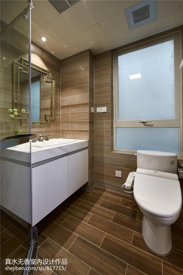 新古典风格三居室卫浴装修图