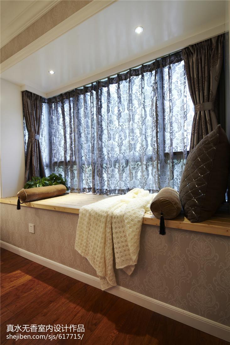 家装简欧格调窗台设计卧室北欧极简卧室设计图片赏析