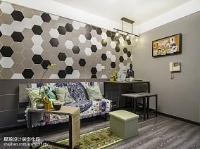 loft风格小户型客厅设计
