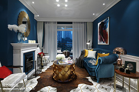 精选客厅新古典装修实景图片欣赏客厅美式经典设计图片赏析