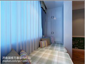 简美后现代卧室风格图片