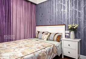平美式四居卧室设计美图卧室设计图片赏析
