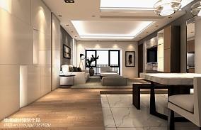 2018简约三居客厅装修设计效果图片