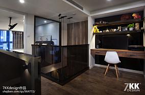 酒店式公寓炫酷黑白灰设计---同进理想城_2511897