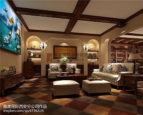 韩式田园3平米客厅装修风格