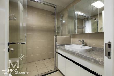 明亮125平现代三居装修装饰图