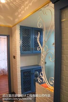 复古厕所浴室装修图