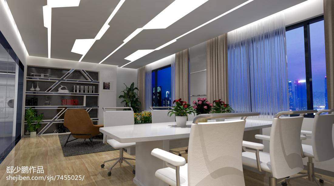公司会议室装饰效果图片设计图片赏析