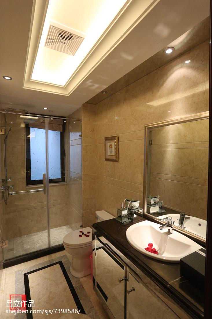 样板房简欧风格卫浴设计