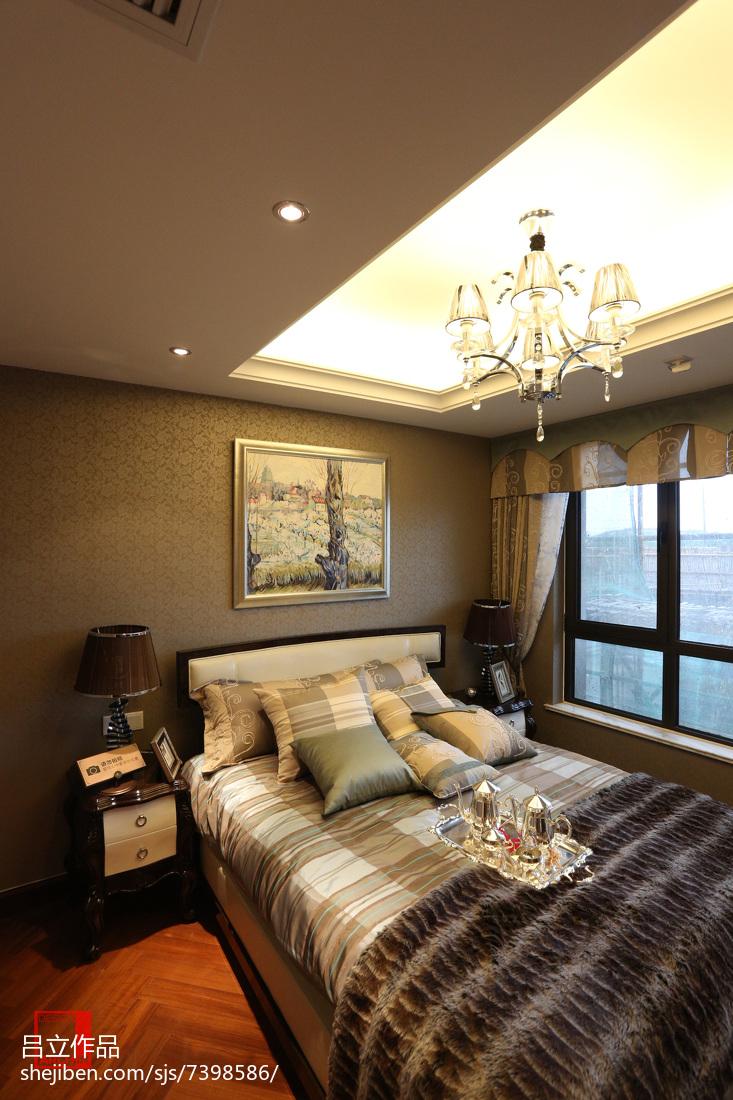 质感简欧风格卧室效果图