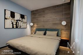 优雅119平现代三居设计美图101-120m²三居现代简约家装装修案例效果图