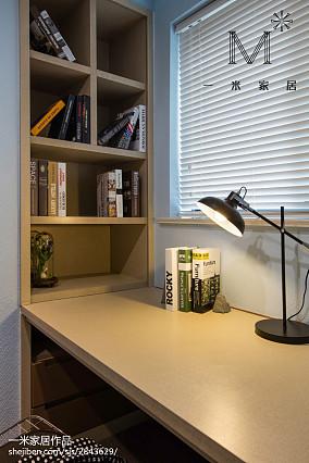 热门面积109平现代三居书房装饰图