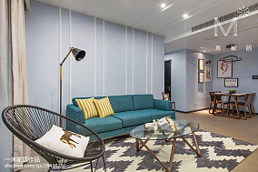 精美101平米三居客厅现代效果图片欣赏