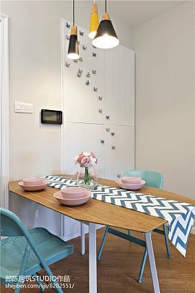 78平米北欧小户型餐厅装修设计效果图片大全