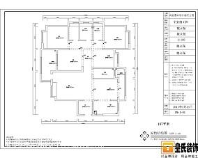 2015简欧风格130平米四居室装修图片大全